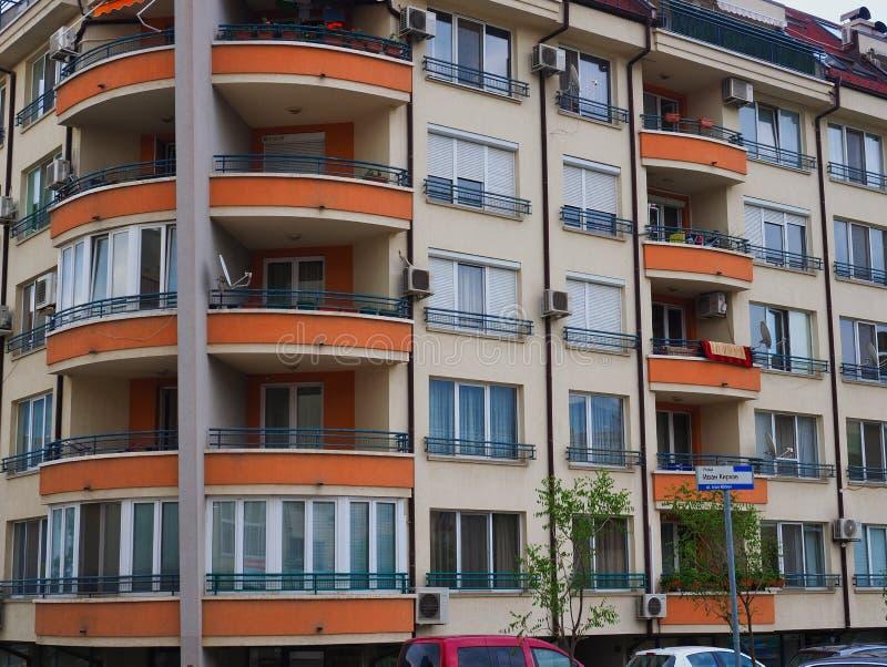 Immeuble de niveau multi, Sofia, Bulgarie photographie stock libre de droits