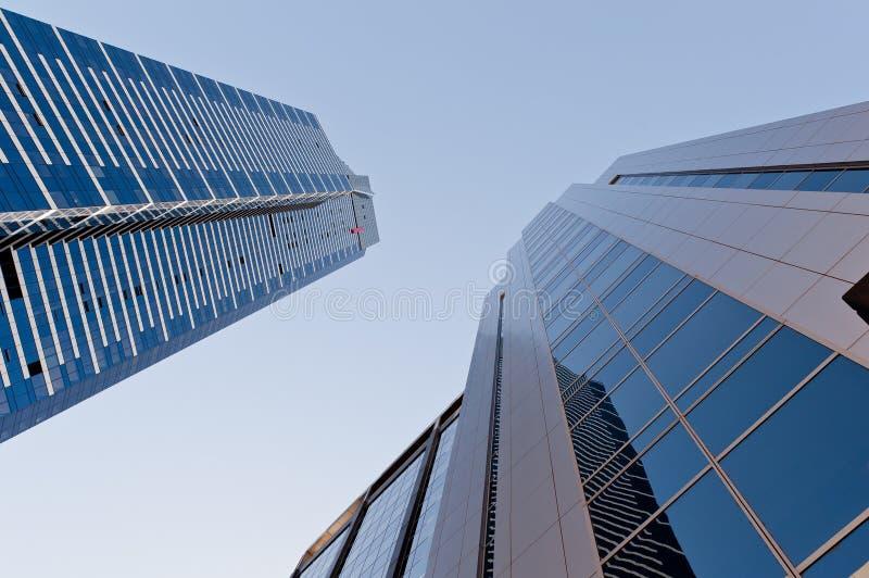 Immeuble des bureaux deux photos stock