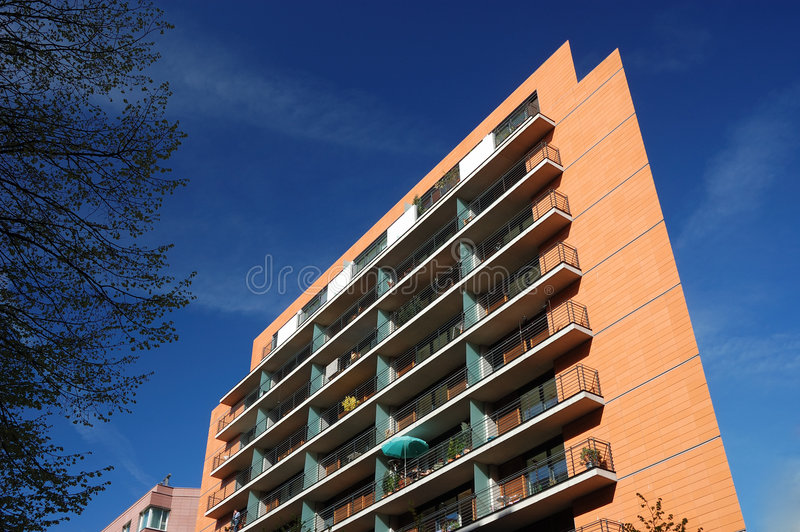 Immeuble moderne photographie stock
