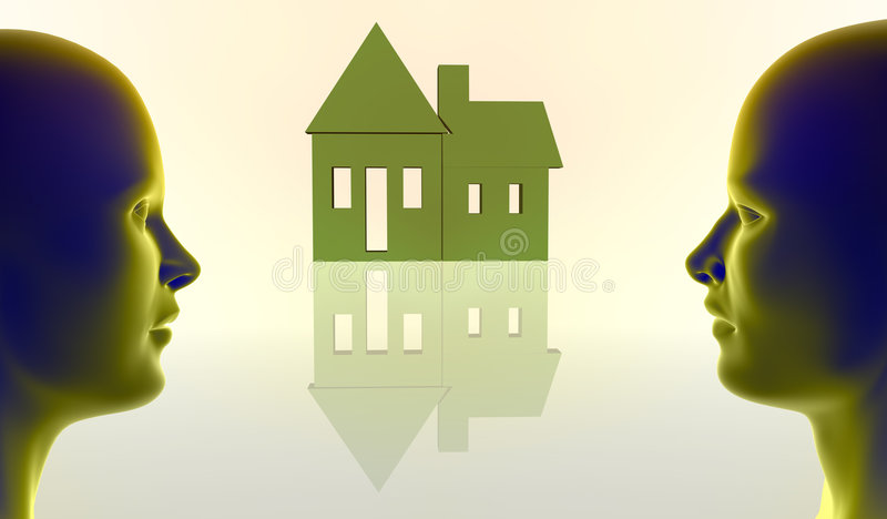 Immeubles illustration stock