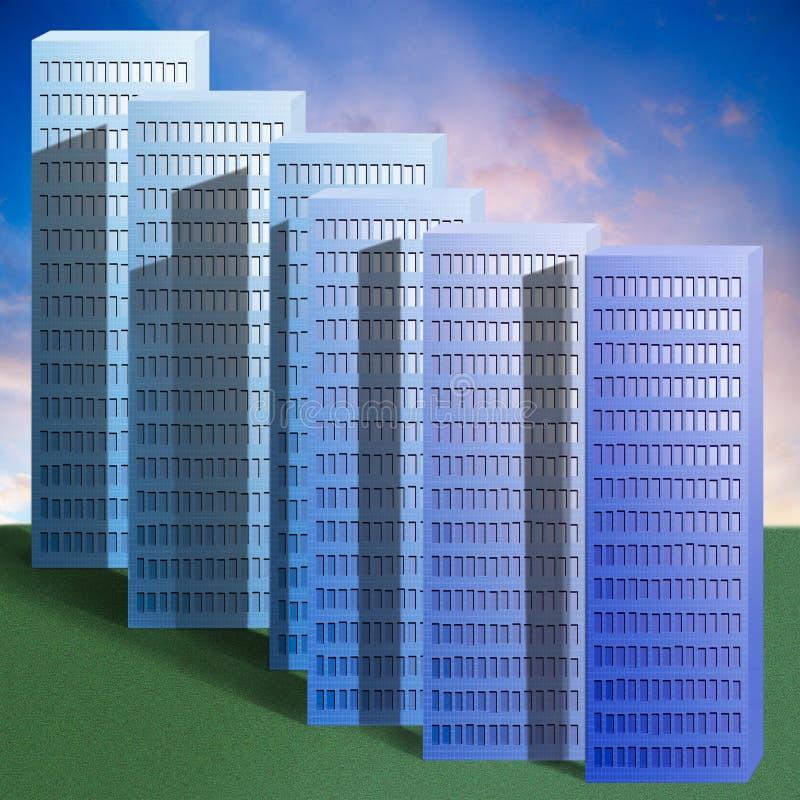 Immeubles photo stock