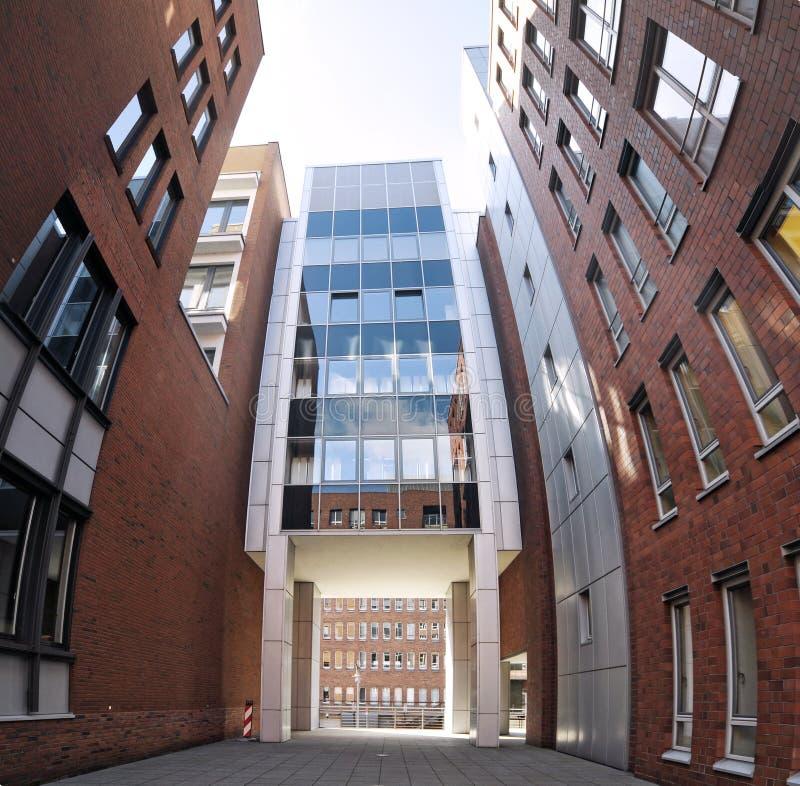 Immeubles de bureaux à Hambourg, Allemagne images stock