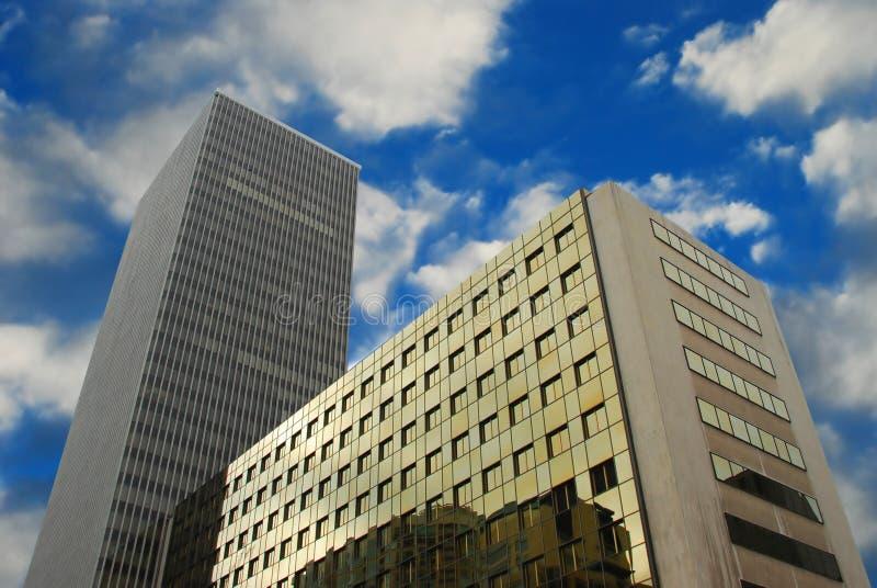 Immeubles de bureaux photo stock