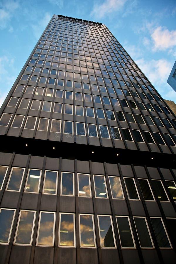 Immeubles de bureaux dans la ville photos libres de droits