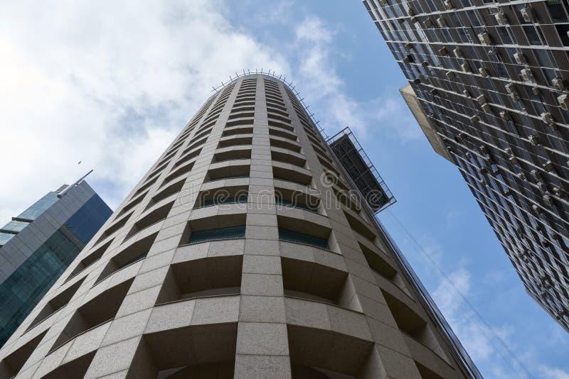 Immeubles de bureaux dans la ville de Sao Paulo photo libre de droits