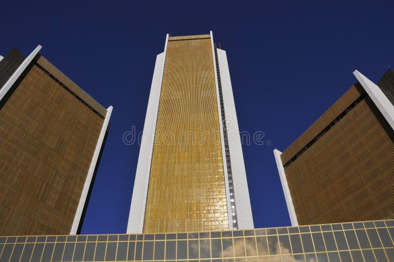 Immeubles de bureaux médicaux modernes photographie stock libre de droits