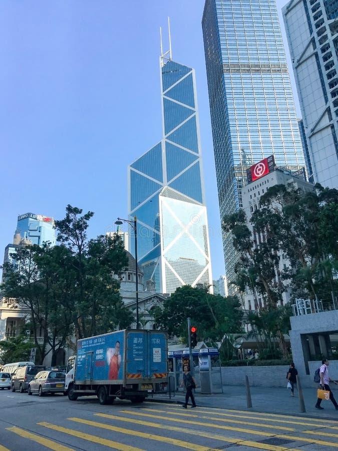 Immeubles de bureaux modernes en centre ville photo libre de droits