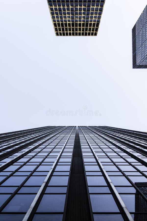 Immeubles de bureaux, Park Avenue, New York City images stock