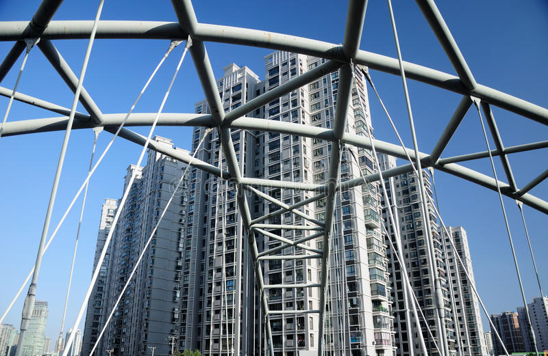 Immeubles de Changhaï photos libres de droits