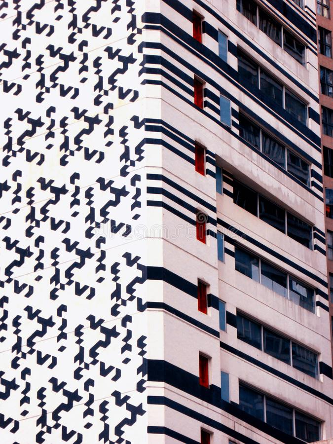 Immeubles de Hong Kong extérieurs photographie stock