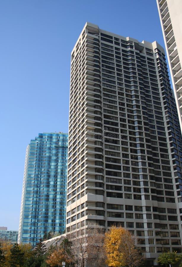 Immeubles de luxe image libre de droits