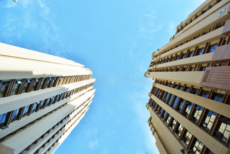 Immeubles modernes photographie stock libre de droits