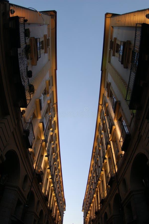 Immeubles verticaux images libres de droits