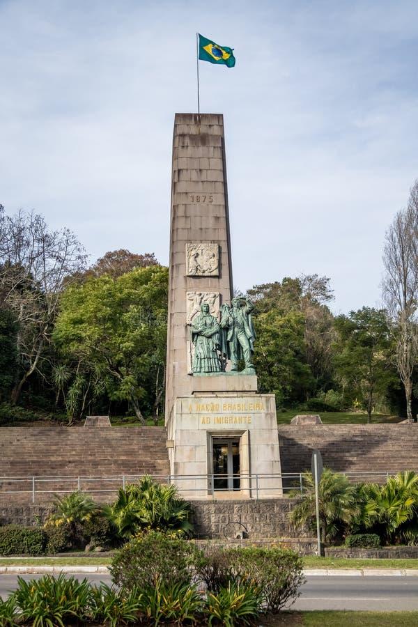 Immigrant Monument - Caxias do Sul, Rio Grande do Sul, Brazil. Immigrant Monument in Caxias do Sul, Rio Grande do Sul, Brazil royalty free stock image