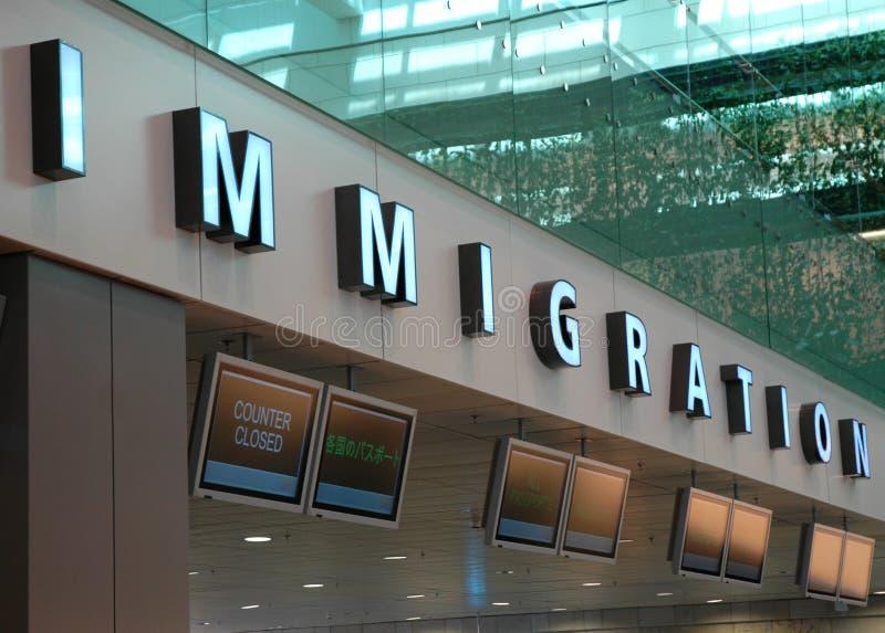 Immigrazione fotografie stock libere da diritti