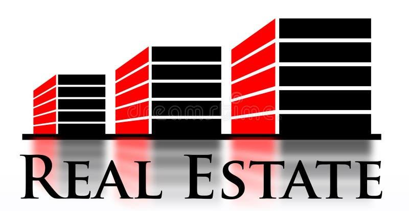 Immobiliën stock illustratie