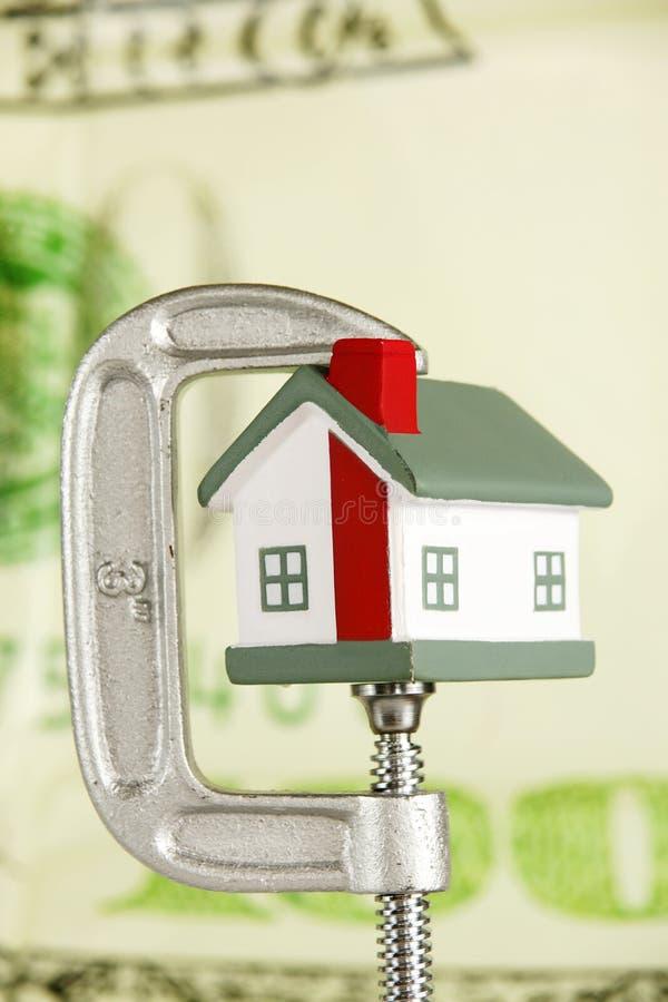 Immobiliënmarkt royalty-vrije stock afbeelding