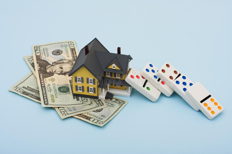 Immobiliënmarkt stock afbeelding