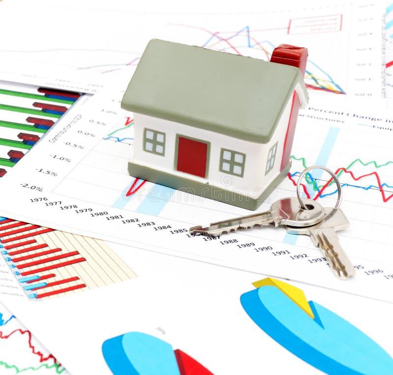 Immobiliënmarktconcept royalty-vrije stock fotografie