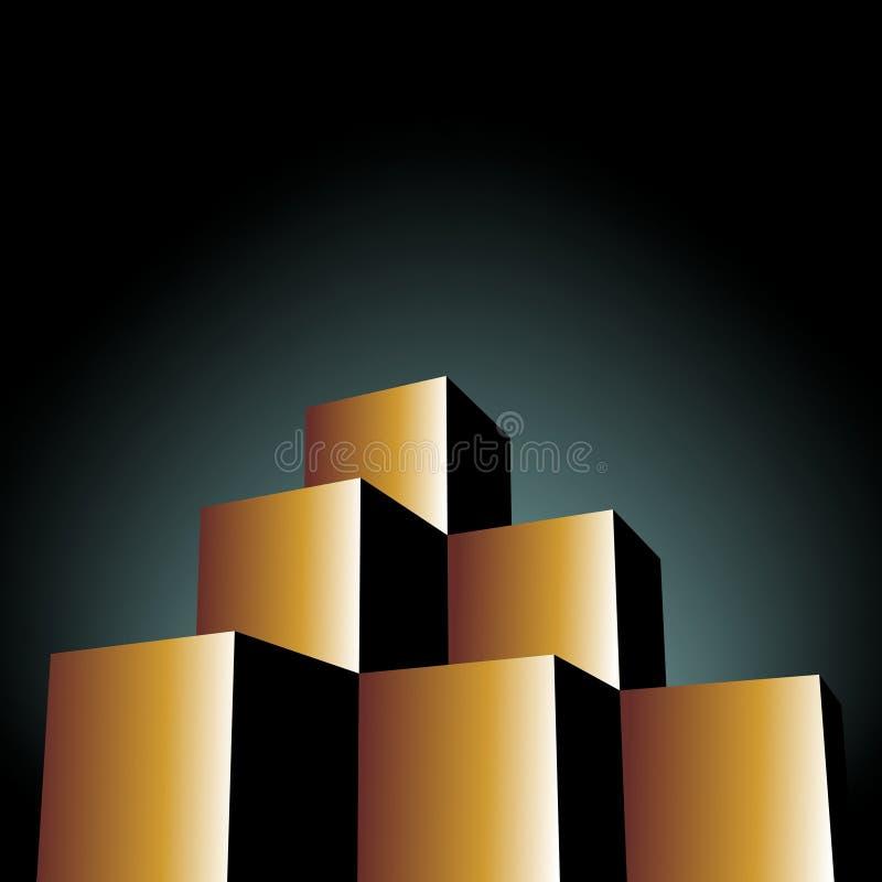 Immobilien stock abbildung