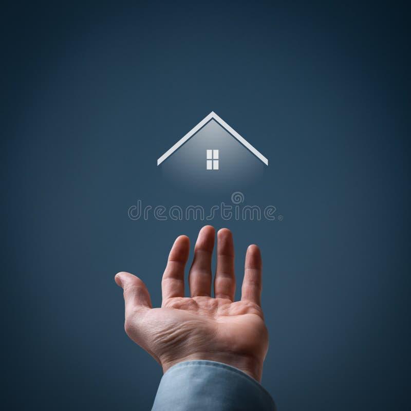Immobilienagentur stockfoto