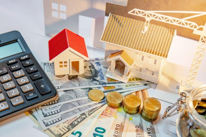 Immobilienentwicklung, Baugewerbe-Investition stockfotos