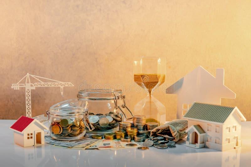 Immobilienentwicklung, Baugewerbe-Investition lizenzfreie stockfotografie