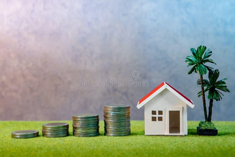 Immobilieninvestition Eigentumsleiterkonzept stockfoto