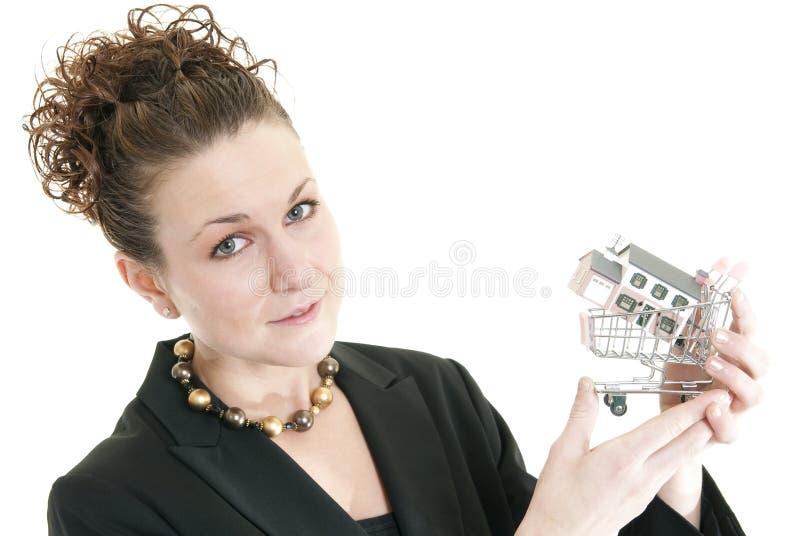 Immobilienmakler lizenzfreies stockbild