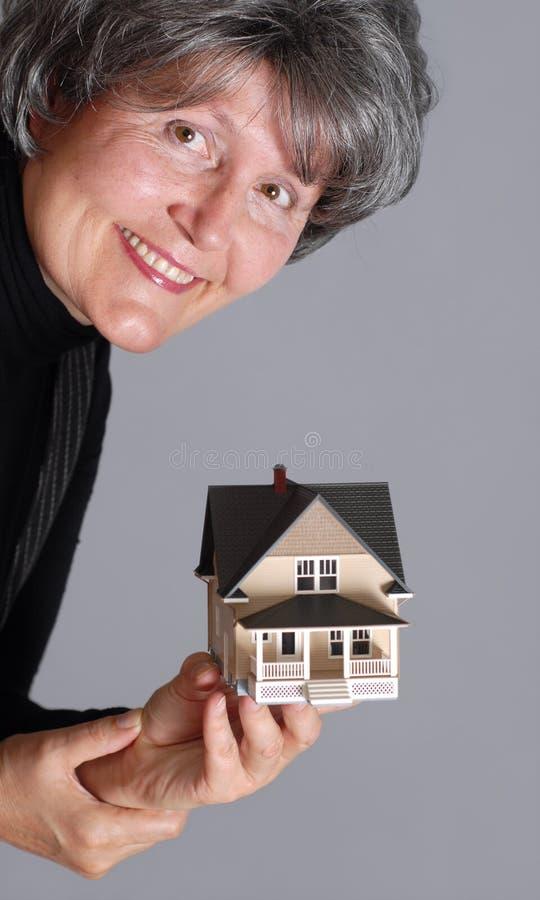 Immobilienmakler stockfotografie