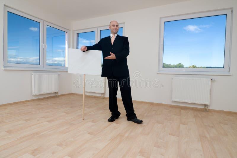 Immobilienmakler lizenzfreie stockfotos