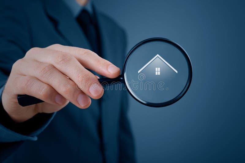 Immobiliers de recherche images stock
