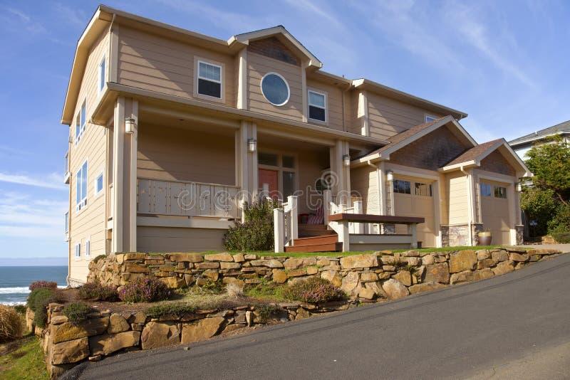 Immobiliers en Lincoln City Oregon photo libre de droits