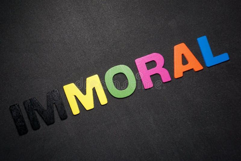 immoral fotografia de stock royalty free
