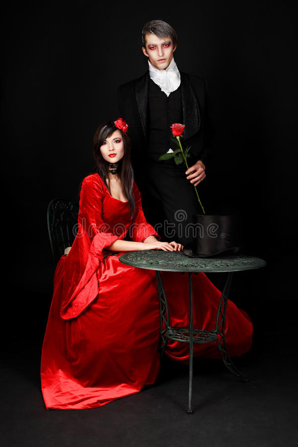 Immortal couple royalty free stock images