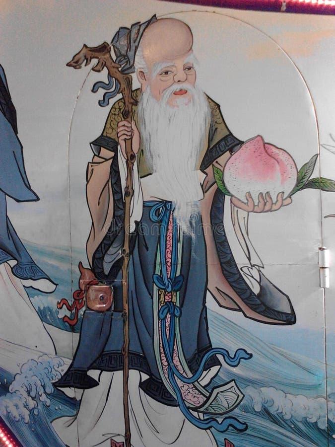 Immortale del taoista immagini stock libere da diritti