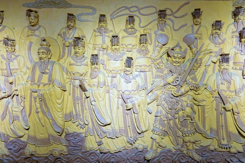 Immortals del Taoist fotografía de archivo