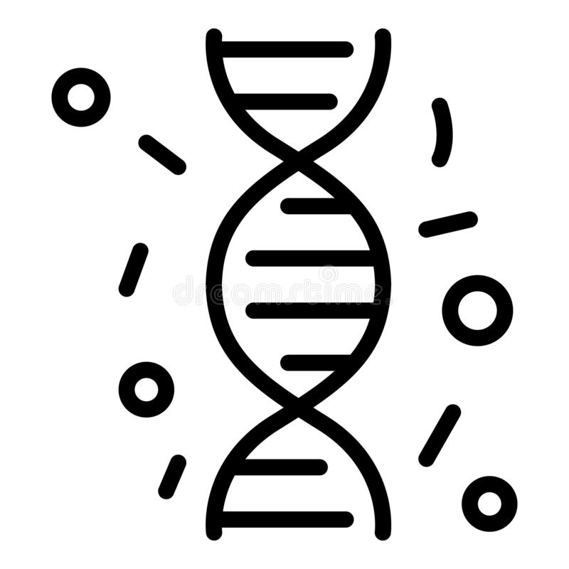 Free Immune Dna Icon, Outline Style Royalty Free Stock Photo - 160909305
