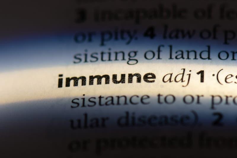 immunisé photographie stock