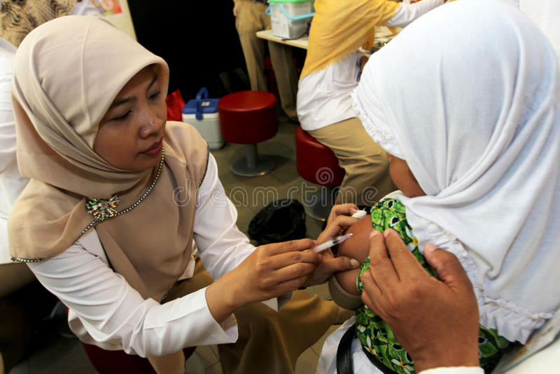 immunisation photographie stock