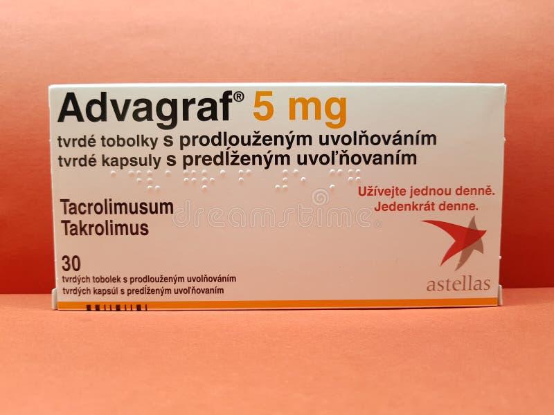 Immunosuppression advagraf royalty-vrije stock afbeeldingen