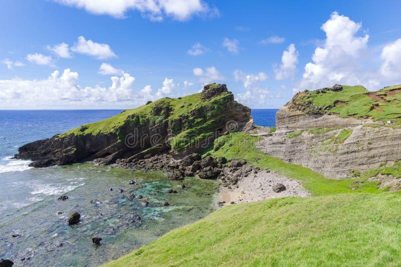 Imnajbu老海军基本的Alapad,巴坦岛,巴丹群岛省 免版税库存照片
