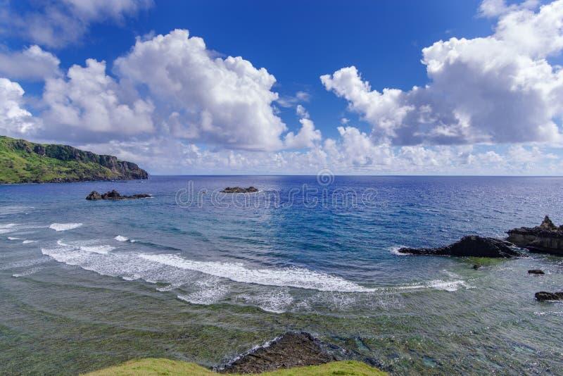 Imnajbu Oude Zeebasis Alapad, Batan-Eiland, Batanes stock foto