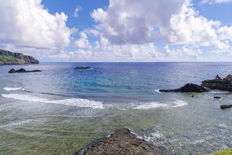 Imnajbu Oude Zeebasis Alapad, Batan-Eiland, Batanes stock afbeelding