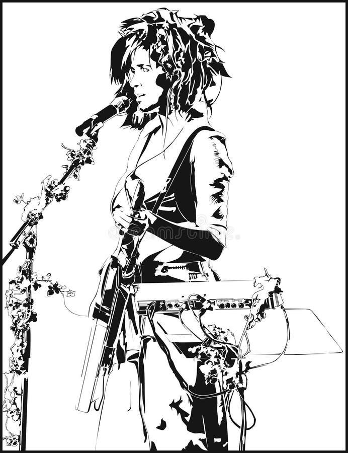 Imogen Heap Illustration stock photo