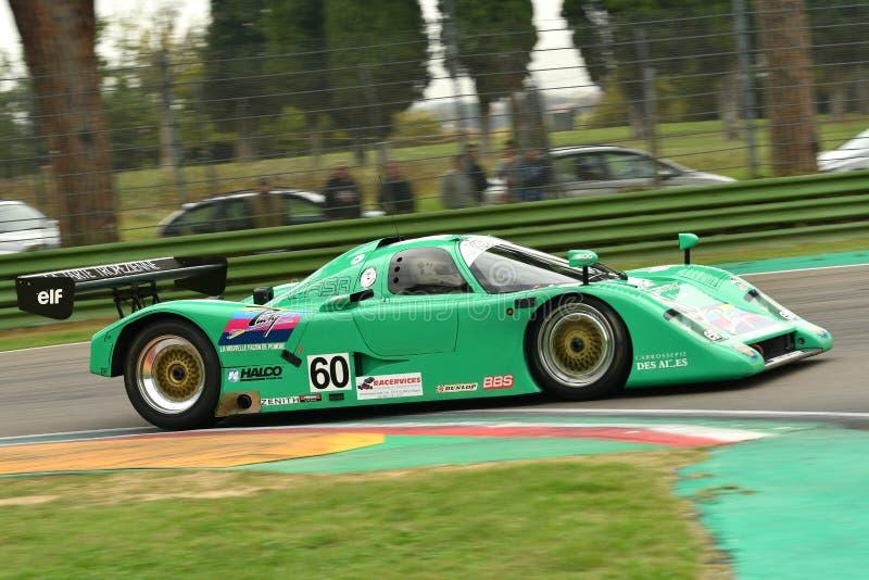 Imola Classic 26 de outubro de 2018: Protótipo 1989 da chita G606 Le Mans conduzido por Eric RICKENBACHER durante a sessão de prá imagem de stock