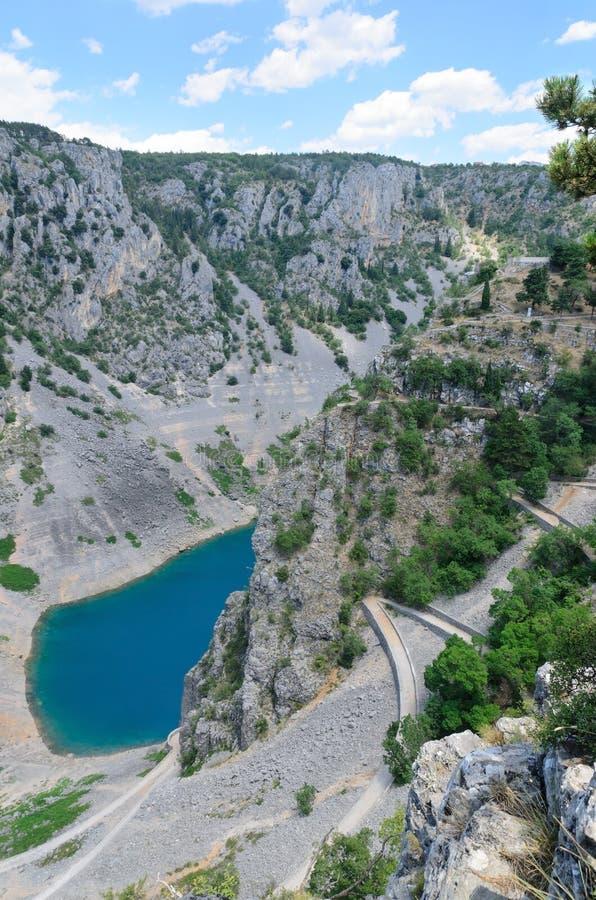 Free Imotski Blue Lake, Croatia Stock Images - 26330944