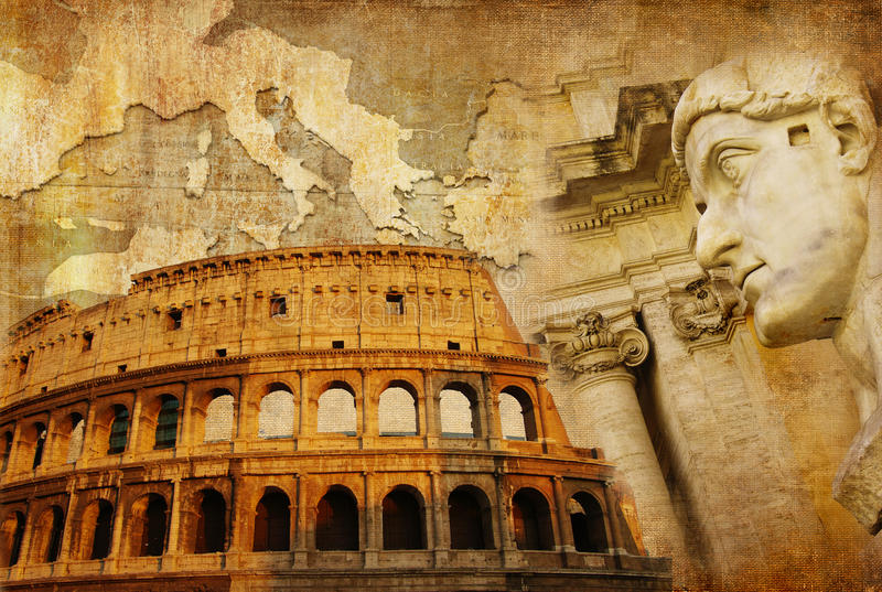 Império romano fotografia de stock