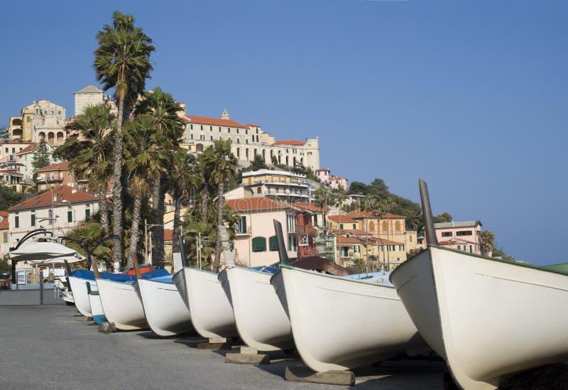 Impérios Riviera italiano foto de stock royalty free