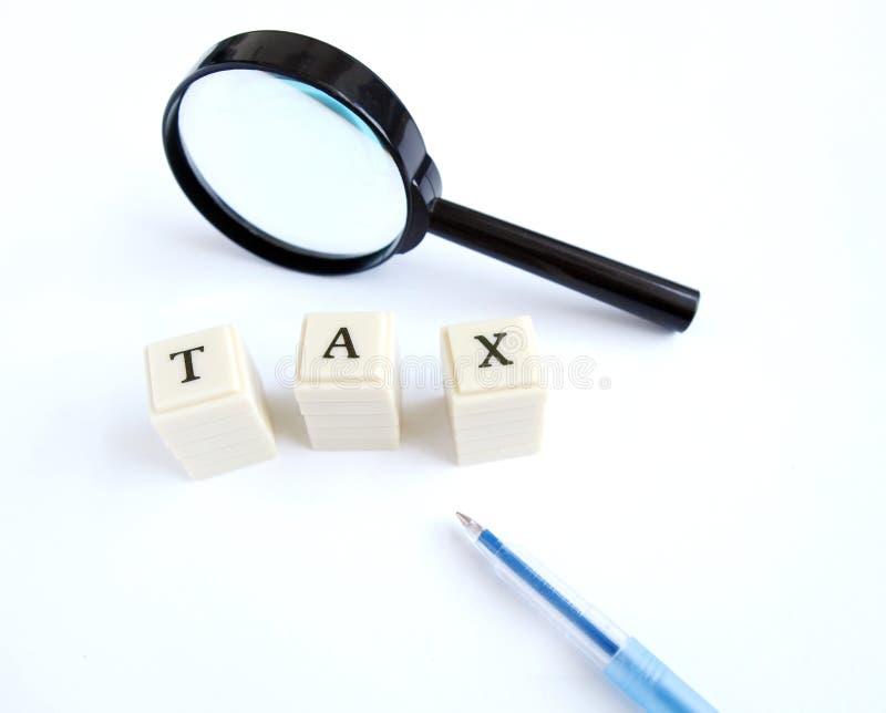 Impôt photographie stock libre de droits
